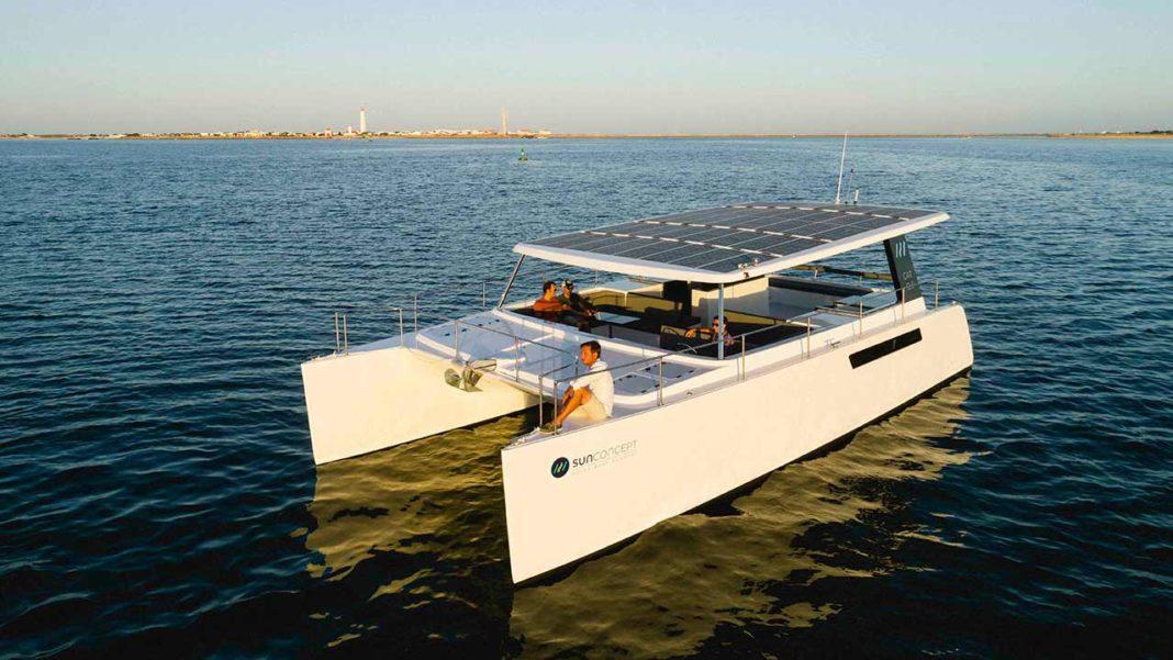 Catamarã eletrico solar Olhão Algarve