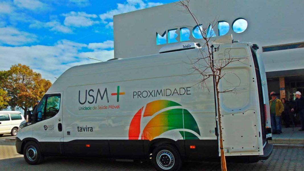 Algarve leva Unidade de Saúde Móvel a Lisboa