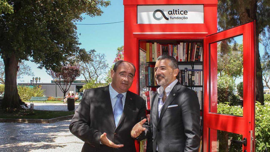 Cabine de Leitura de Faro Altice Rogério Bacalhau e Alexandre Fonseca.