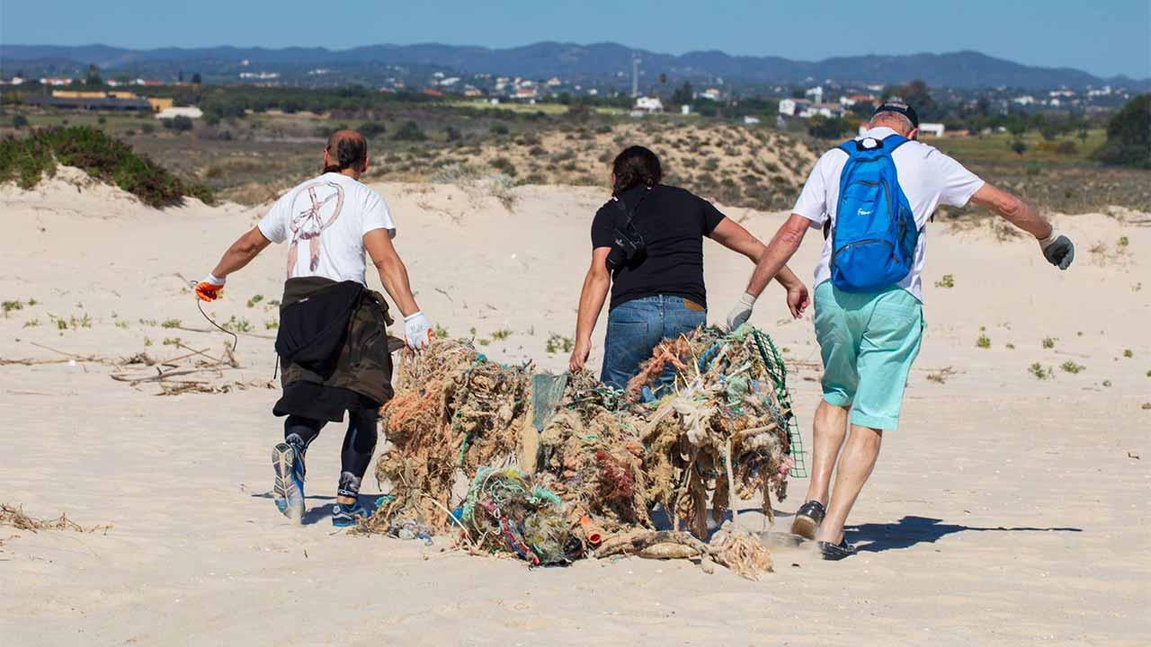 Resultado de imagem para limpeza de praia voluntária brasil