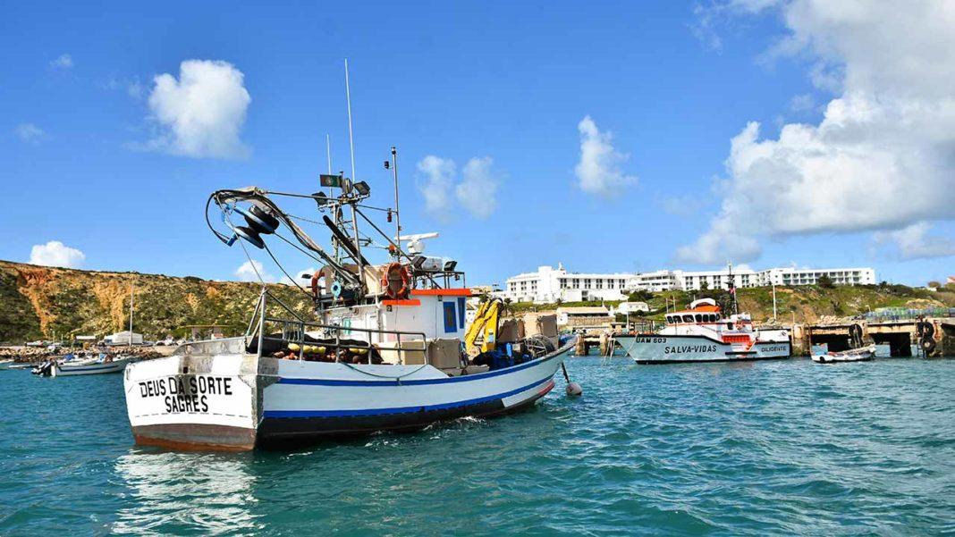 Cais flutuante de apoio à pesca do Porto da Baleeira
