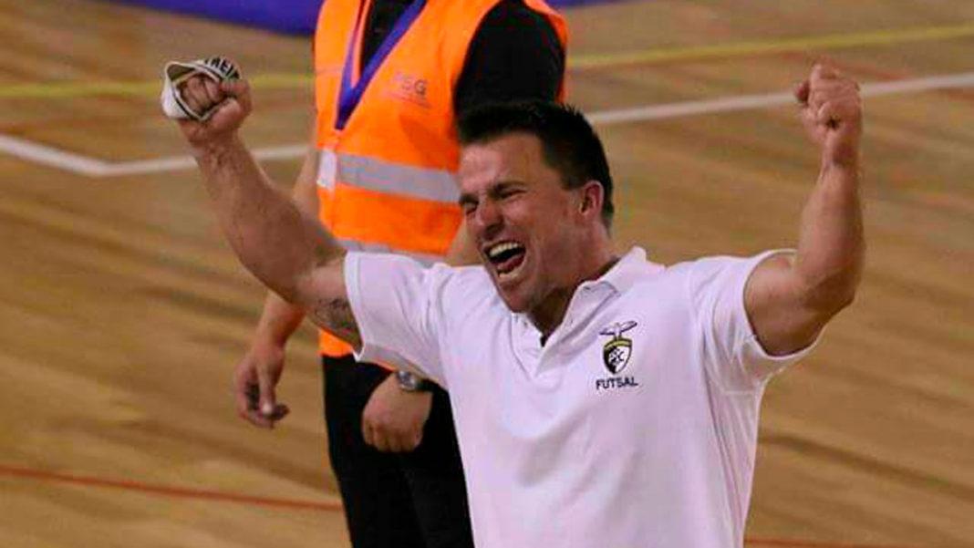 Pedro Moreira, treinador de futsal do Portimonense