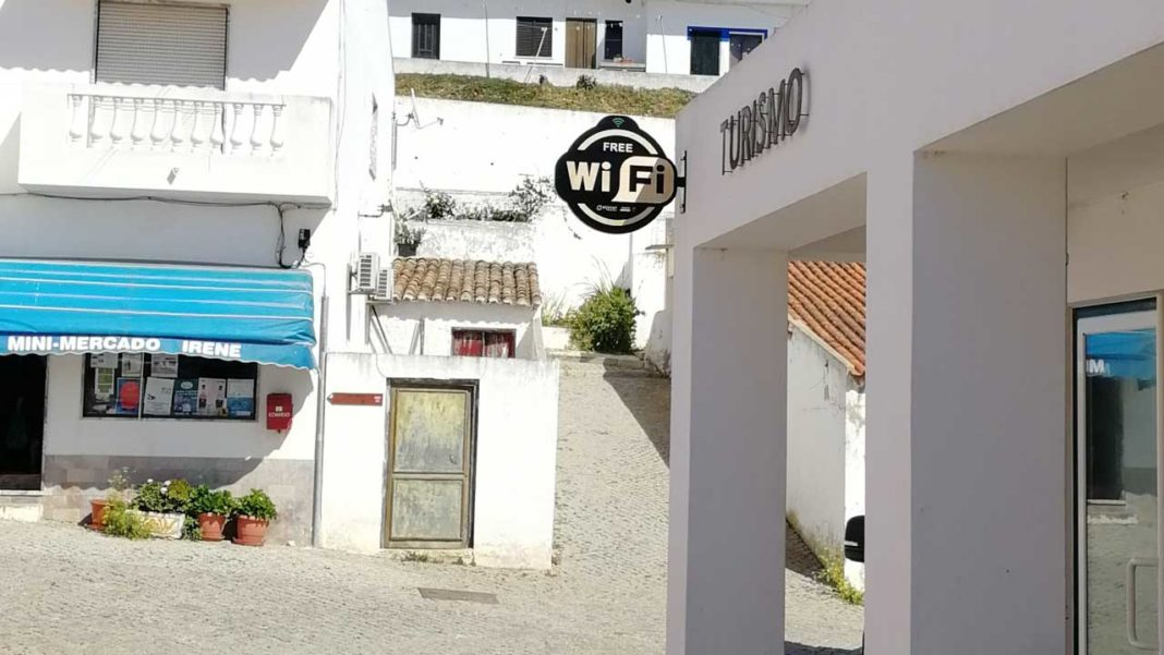 Aljezur tem Wi-Fi grátis por todo o concelho