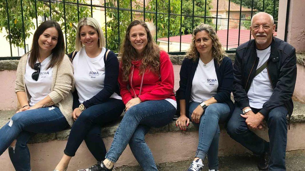 Cheche Rainha Santa visita de Alvor visitou o Zoo de Lisboa
