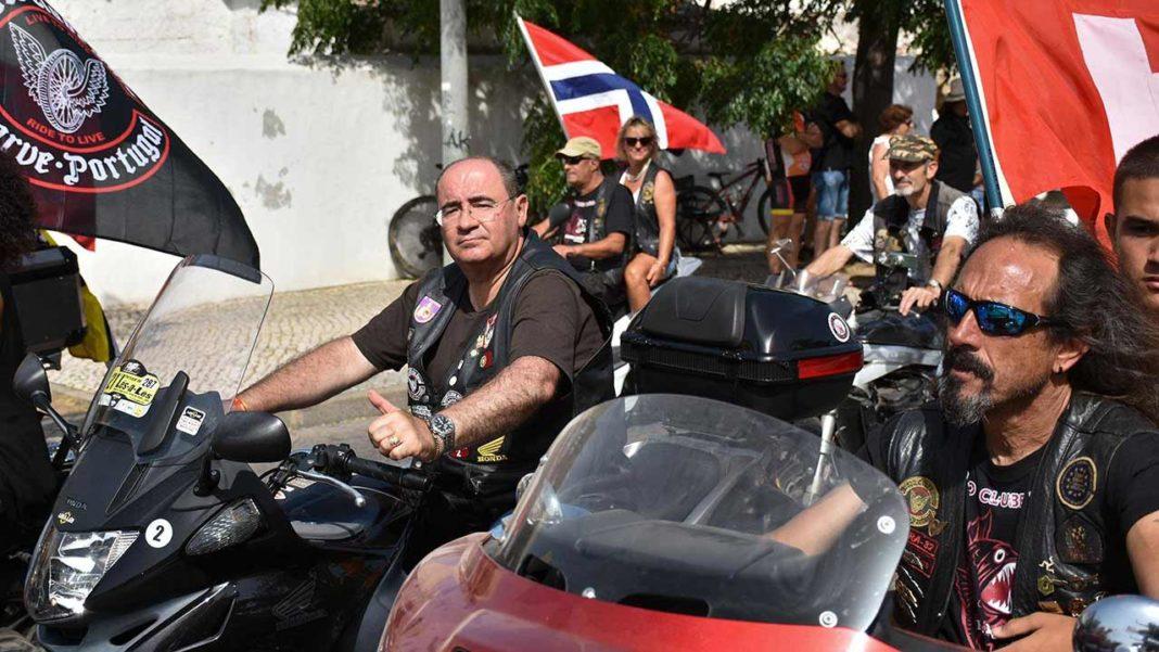 Concentração Internacional de Motos em Faro