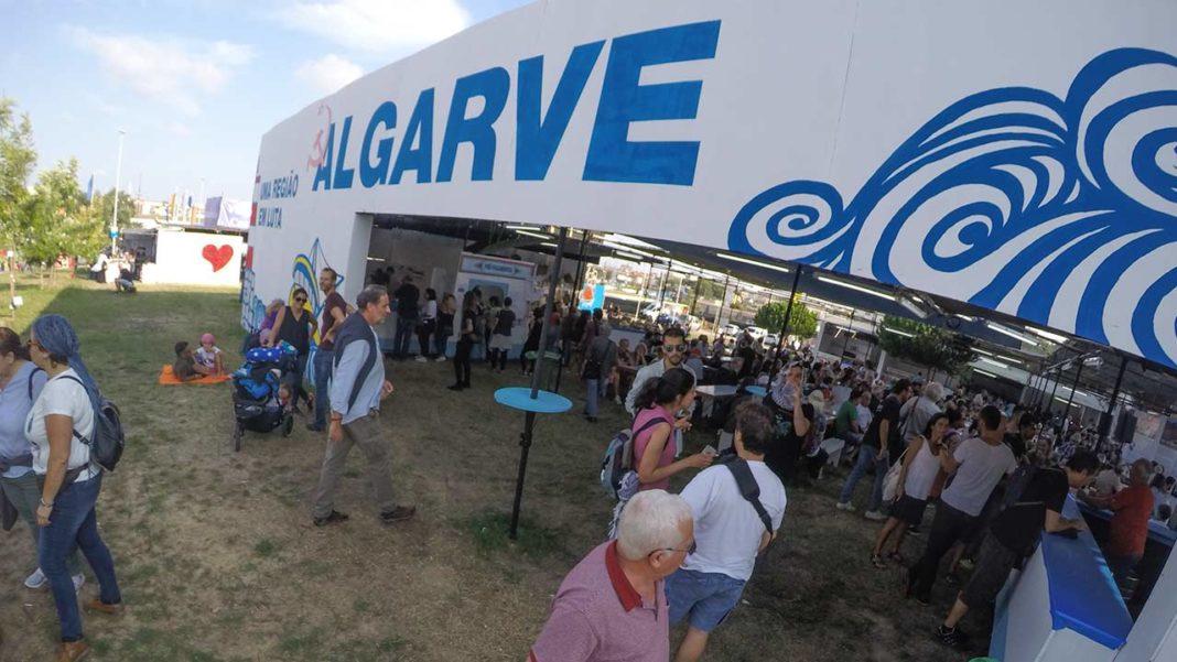 Algarve na Festa do Avante 2019 CDU PCP DORAL