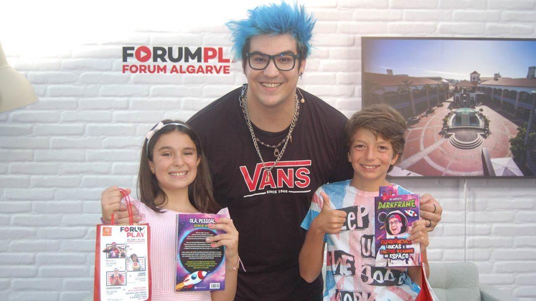 Forum Algarve juntou crianças e youtubers em evento pioneiro