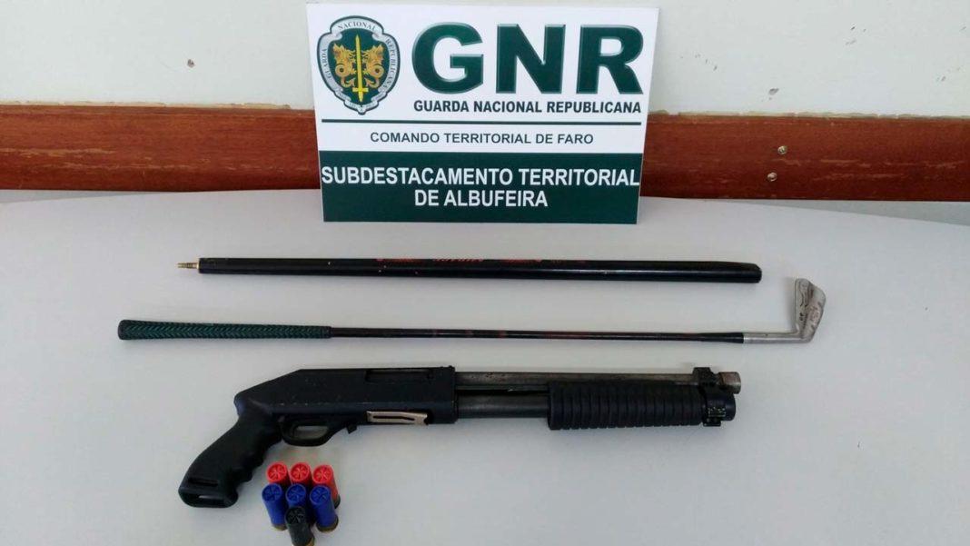 GNR faz detenção em Albufeira