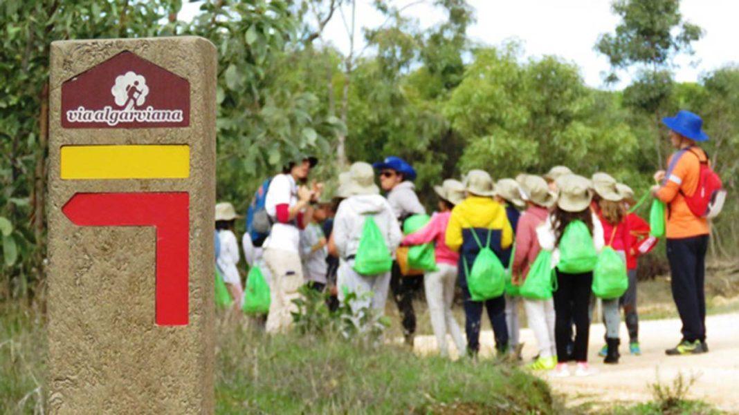 Educação Ambiental na Via Algarviana