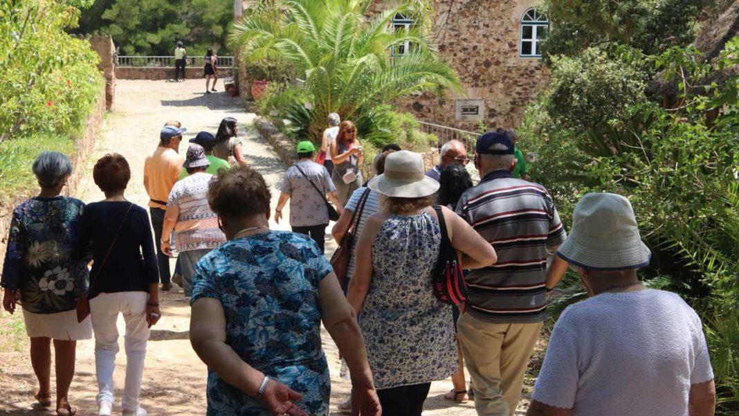 Faro levou idosos a Monchique