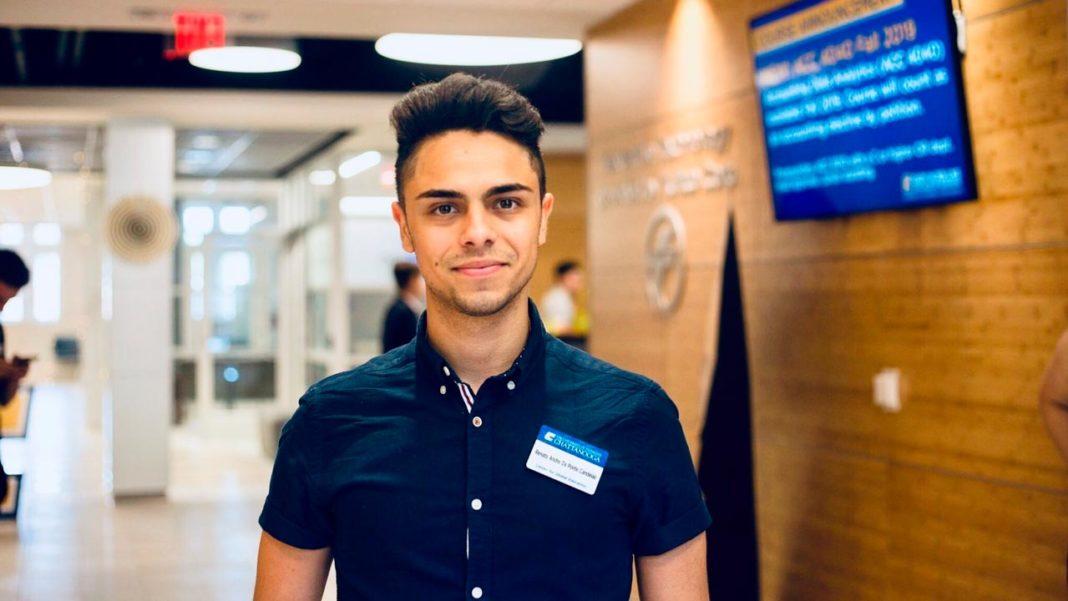 Renato Ponte, Estudante da UAlg nos EUA