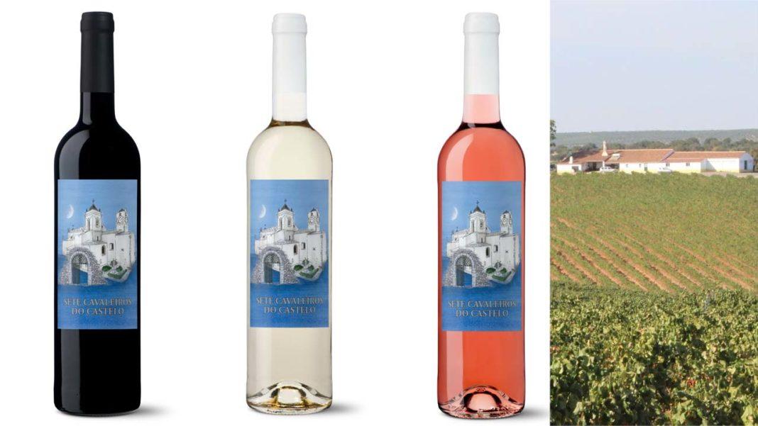 Sete Cavaleiros do Castelo é o nome do vinho da empresa ARTgilão TAVIRA e a Casa Santos Lima.