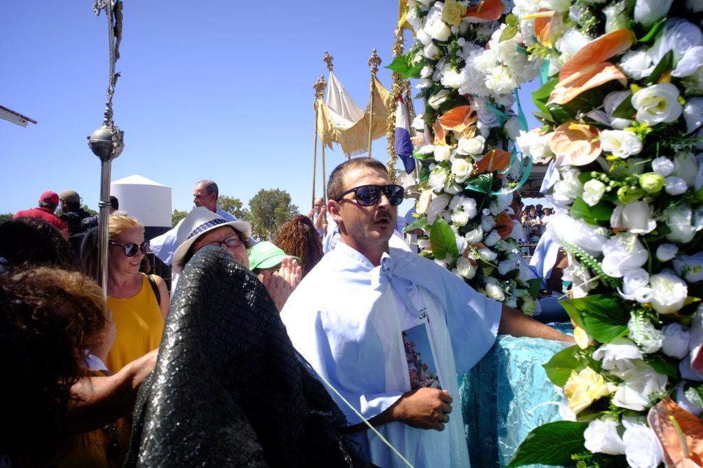 Em Olhão, aguarda-se a chegada de Nossa Senhora dos Navegantes, vinda da Ilha da Culatra.