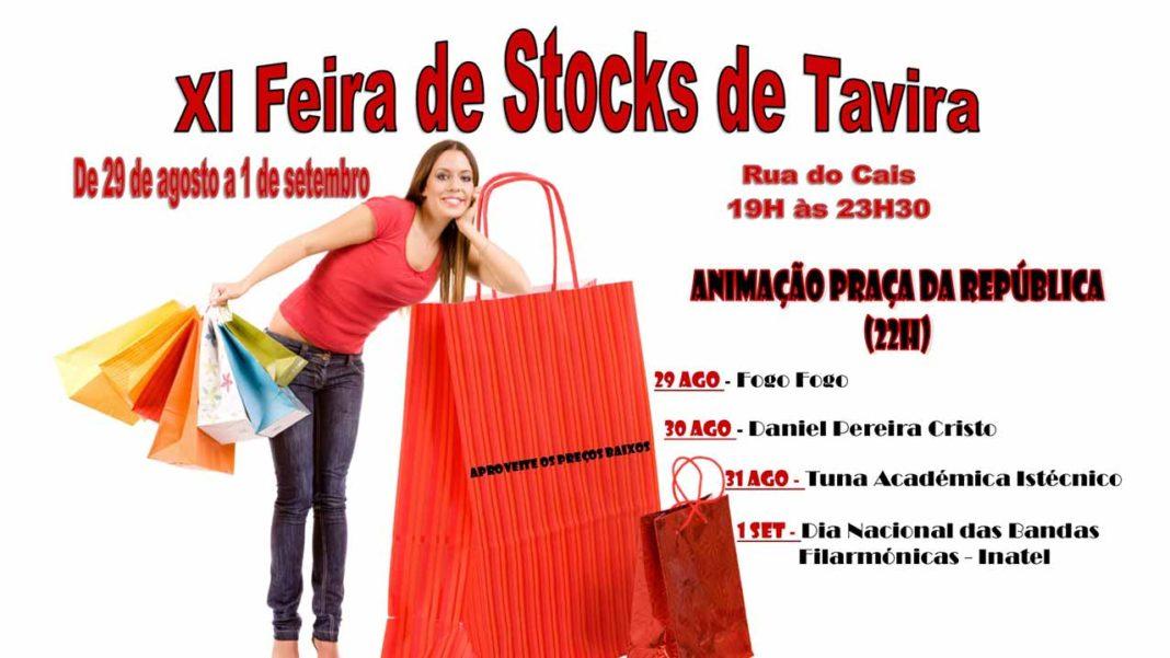 Feira de Stocks em Tavira