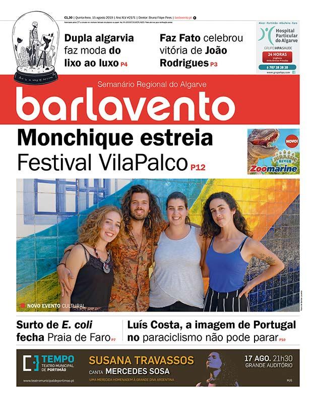 Edição 2171 do jornal barlavento