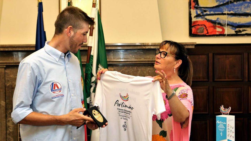 Portimão homenageia Emanuel Duarte, ciclista da Volta a Portugal