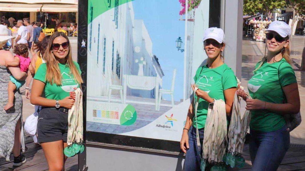 Luságua promove campanha de sensibilização ambiental em Albufeira