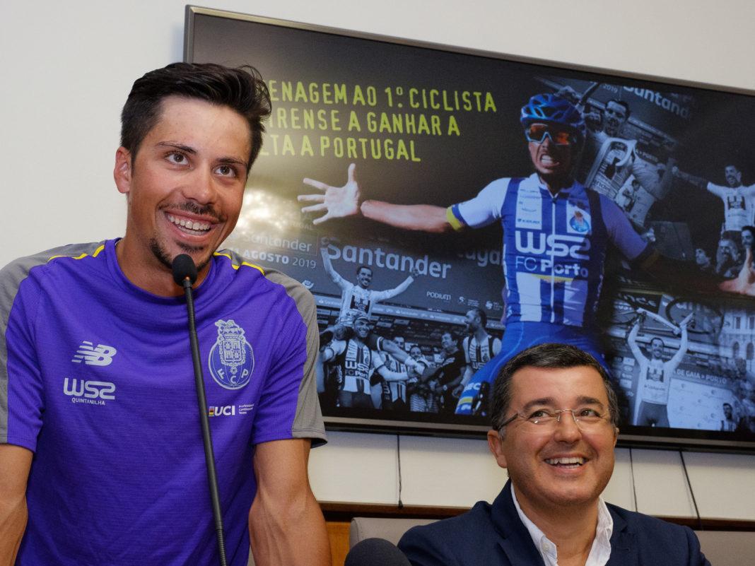 João Rodrigues e Jorge Botelho, no Salão Nobre ca Câmara Municipal de Tavira