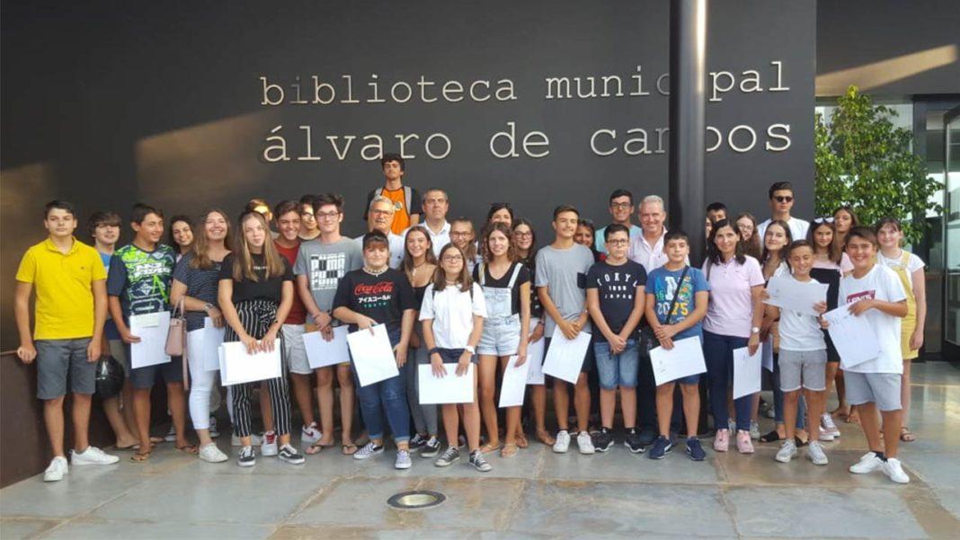 Jovens participantes do «Tavira – Férias Ativas» receberam bolsas