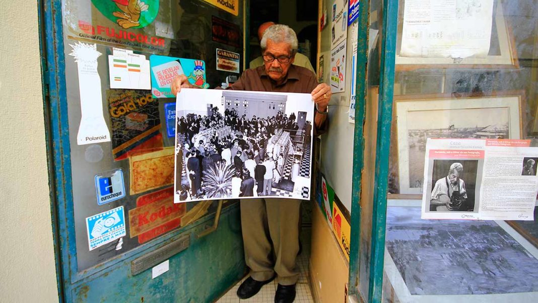 Francisco Oliveira, fotógrafo de Portimão, morreu aos 101 anos