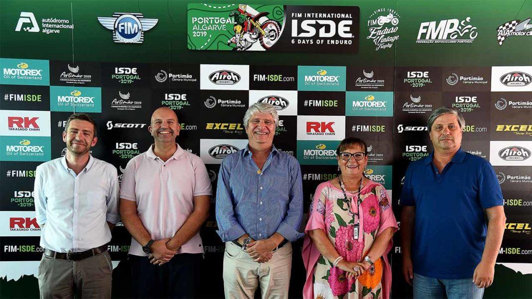 Portimão acolhe International Six Days Enduro 2019 em novembro