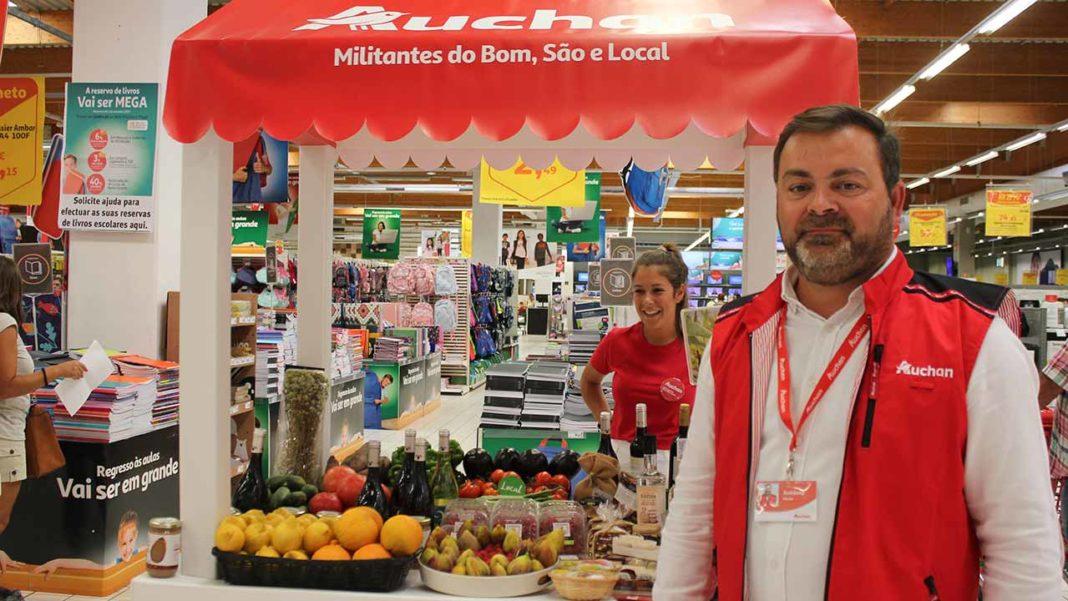 Jumbo passa a chamar-se Auchan e reforça aposta nos produtores locais