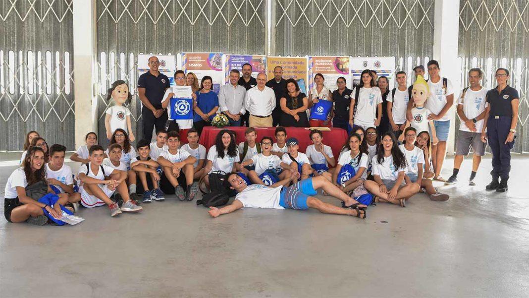 Jovens voluntários de Loulé findam vigilância florestal em festa
