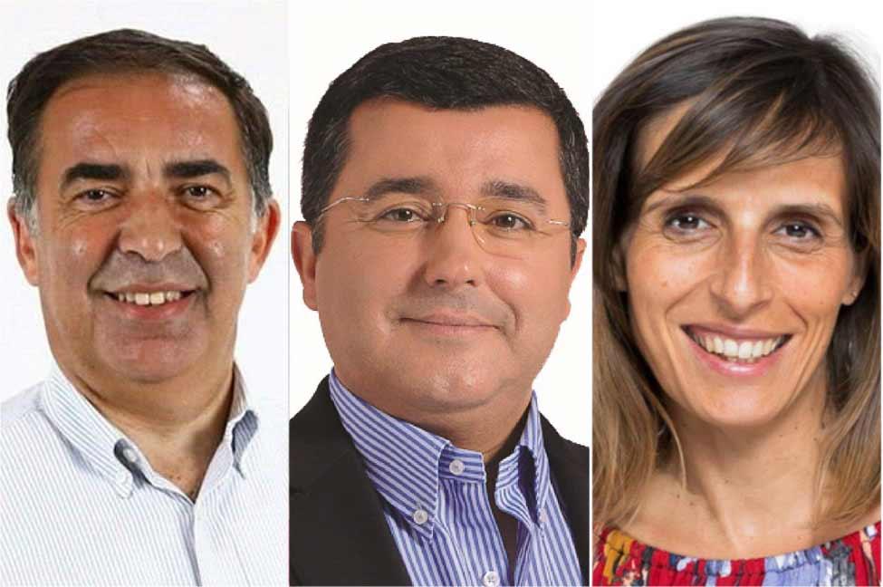 José Apolinário, Jorge Botelho e Jamila Madeira representam o Algarve no governo