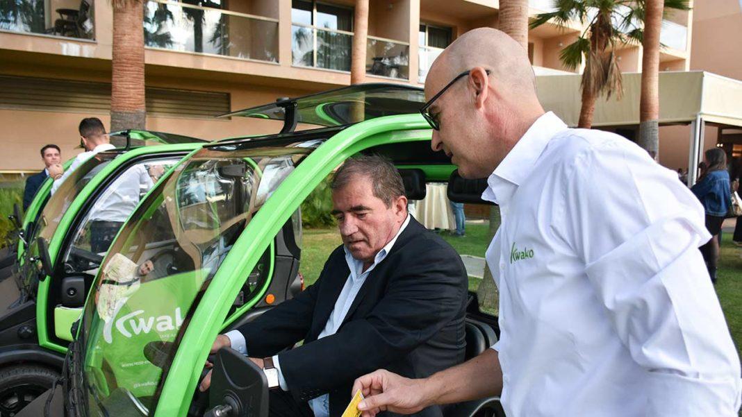 Kwako é a primeira rent-a-car do Algarve com frota 100 cento elétrica. Sediada em Albufeira, começa a operar no início de 2020 pequeno carro italiano Birò.