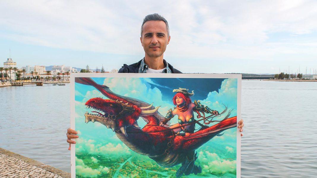 Ilustrador algarvio premiado lança BD original no mercado mundial