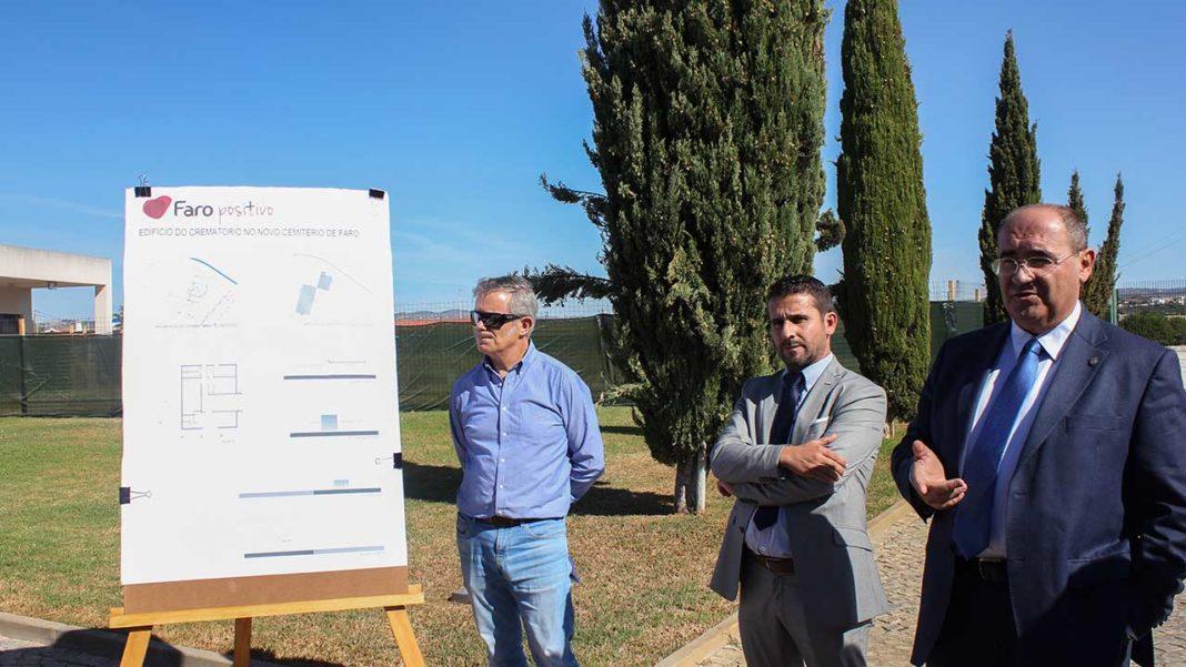 Construção do crematório de Faro já está em marcha