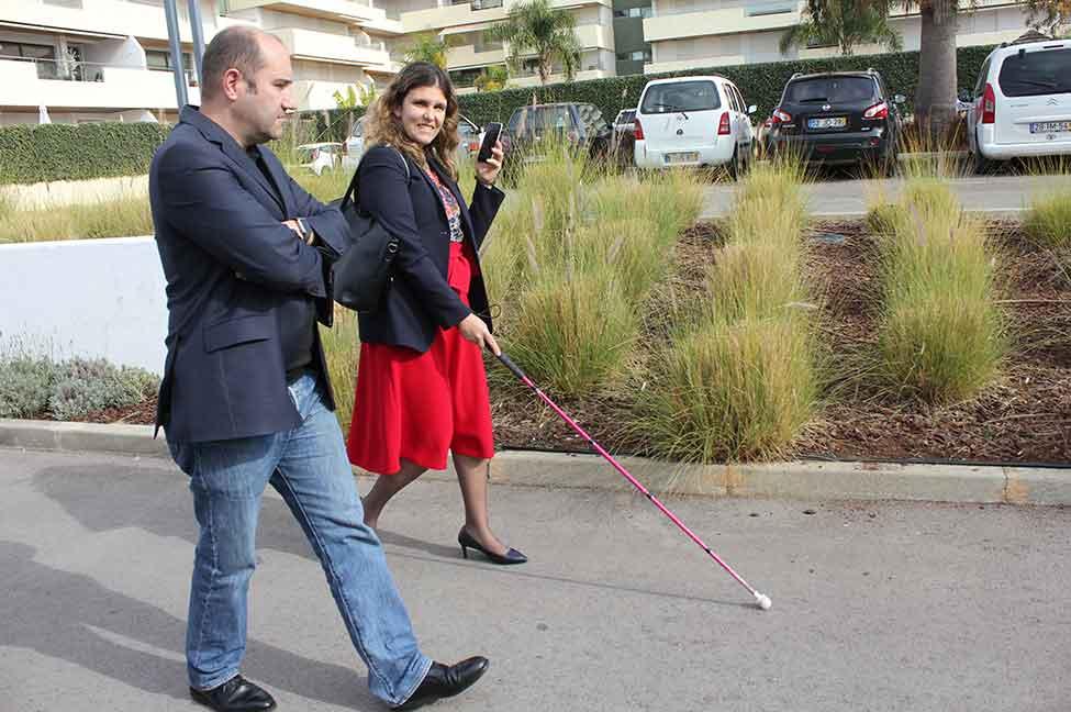 Aplicação pioneira para deficientes visuais lançada em Vilamoura