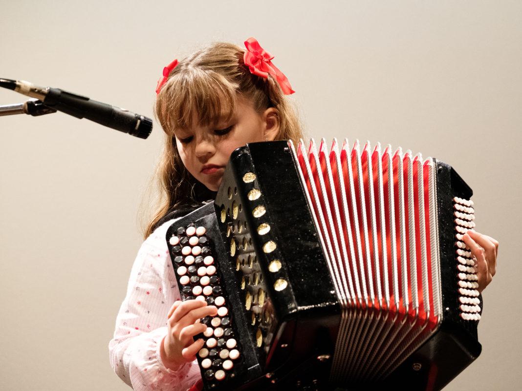 Grandes acordeonistas de tenra idade!