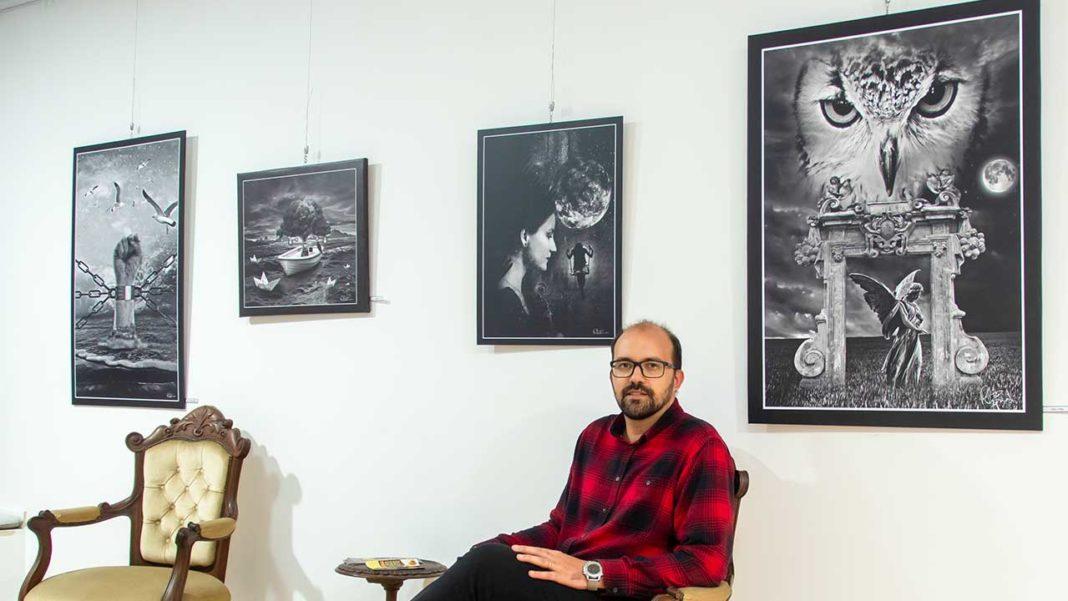 Ruben Barroso e a arte de fazer fotomontagens únicas