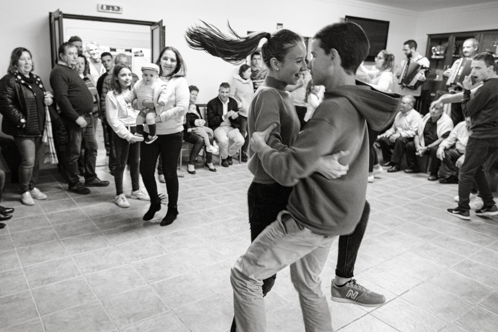 Baila Coração ao Som do Acordeão no Azinhal, no passado sábado  30 de novembro de 2019