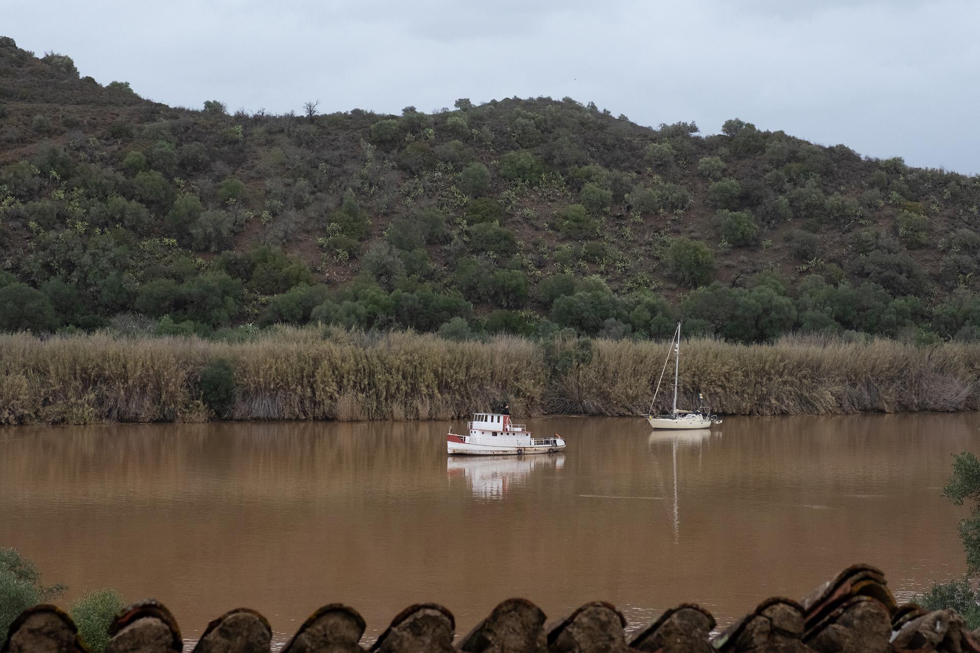 Rio Guadiana nas proximidades de Alcoutim.