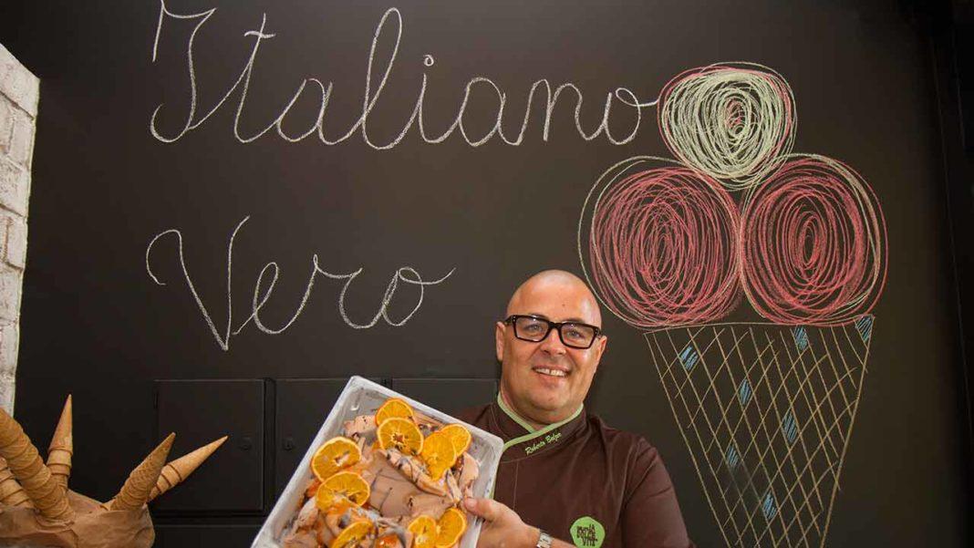 Roberto Balzer, empresário de uma família italiana com raízes no sector desde 1850, vive há 30 anos no Algarve. Em 2014, em plena crise, lançou a Gelato La Dolce Vita, marca de gelados gourmet que já é a favorita da restauração algarvia de topo.