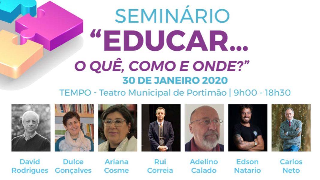 Seminário sobre Educação em Portimão