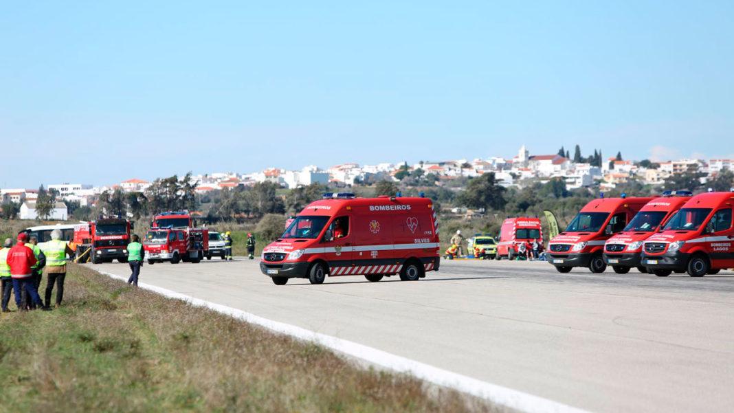 Simulacro Aeródromo de Portimão