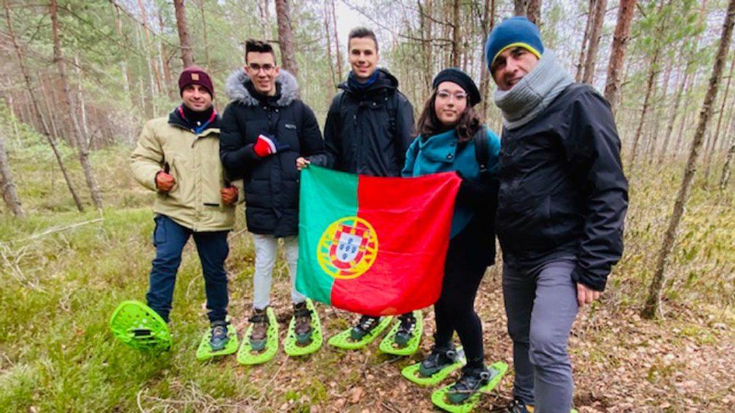 Alunos de Olhão na Letónia