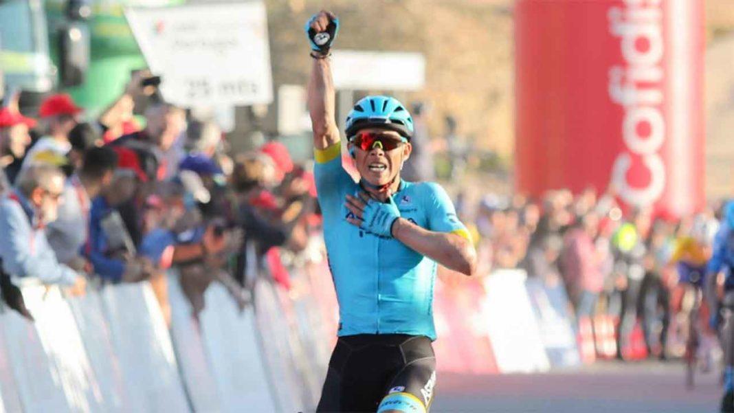 O Alto do Malhão não intimidou Miguel Ángel López (Astana Pro Team) que venceu com grande autoridade uma etapa de 169,7 quilómetros, iniciada em Albufeira.