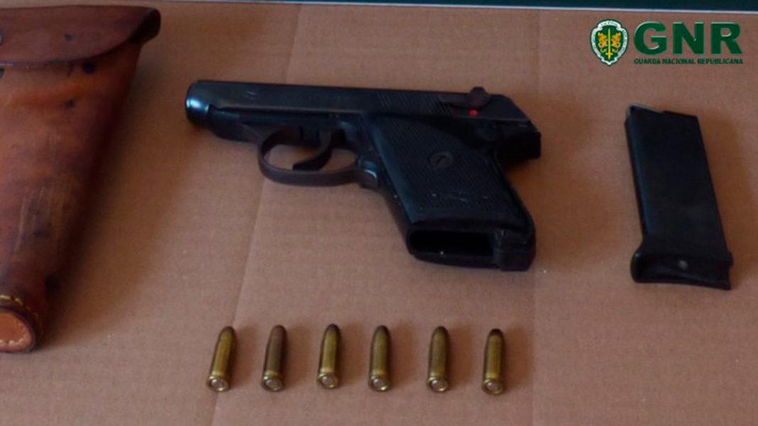 GNR arma ilegal