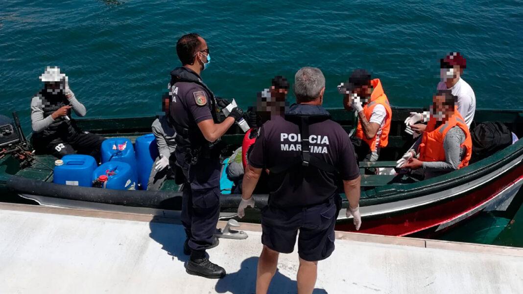 Polícia Marítima interceta homens na Ria Formosa
