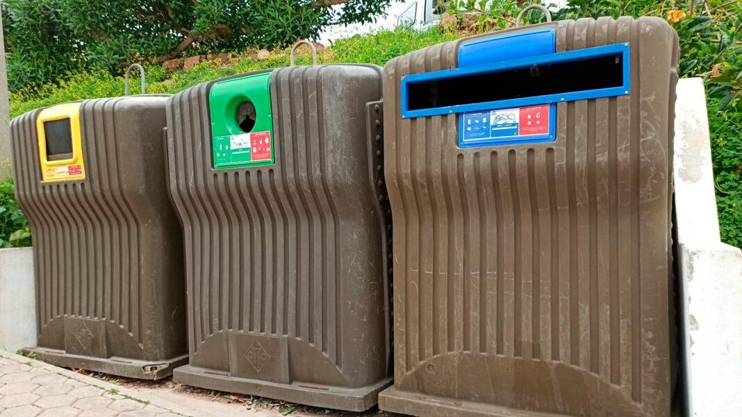 Reciclagem em Vila do Bispo