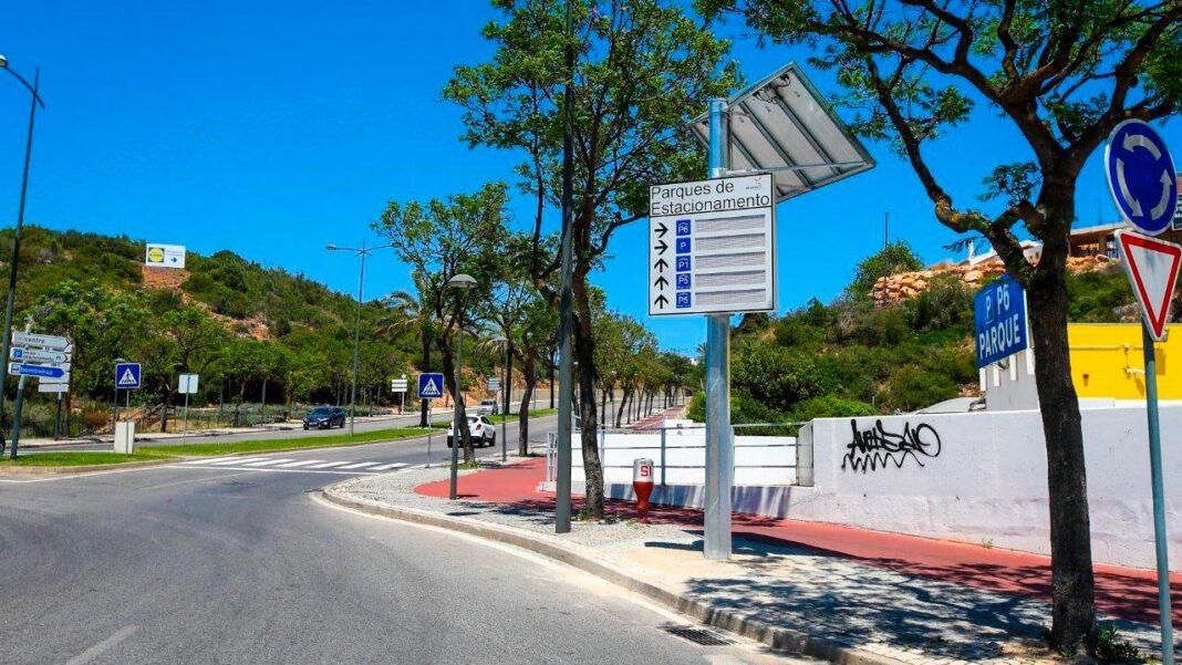 Parques de estacionamento em Albufeira