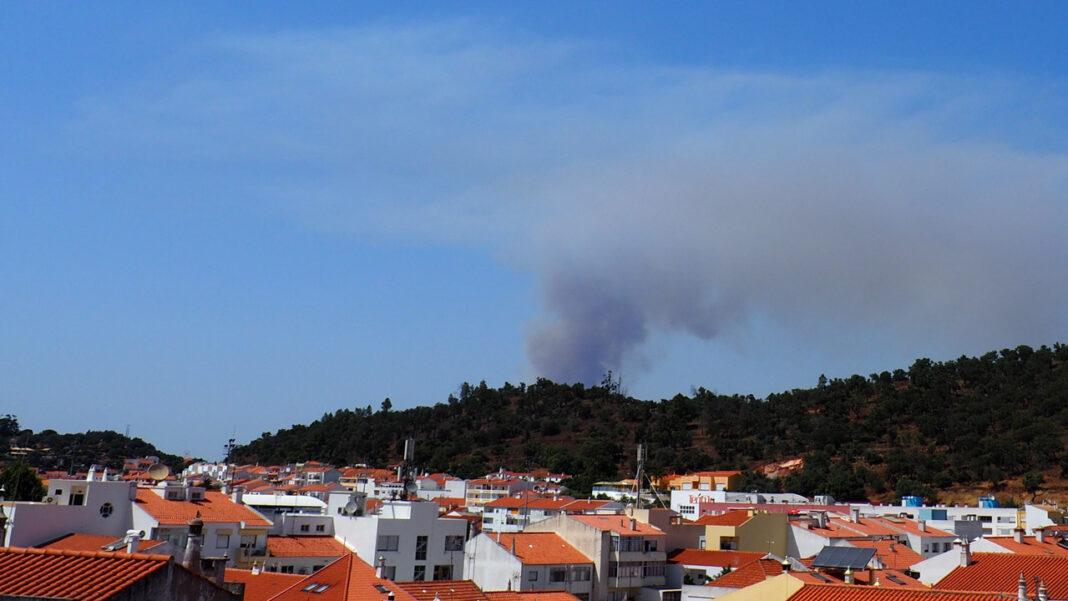 Incêndio em São Marcos da Serra