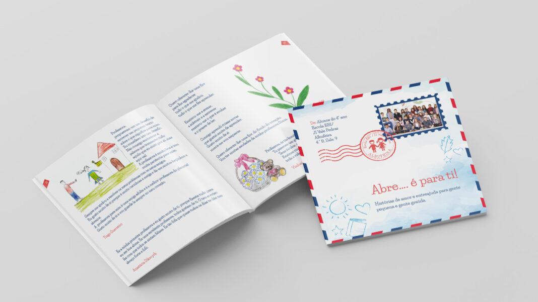 Livro produzido pelas crianças de Albufeira