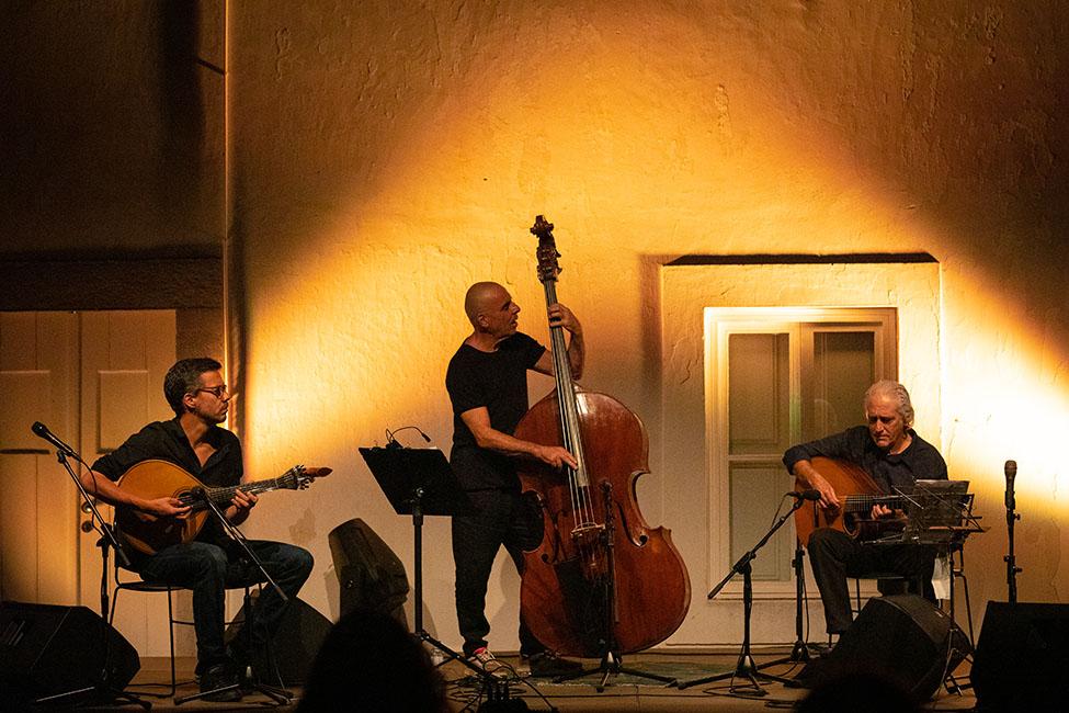 LST – Lisbon String Trio no «Jazz no Palácio».