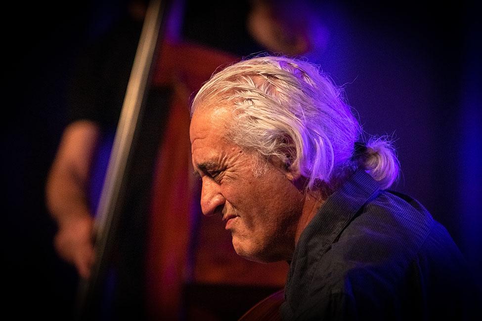 José Peixoto no «Jazz no Palácio».