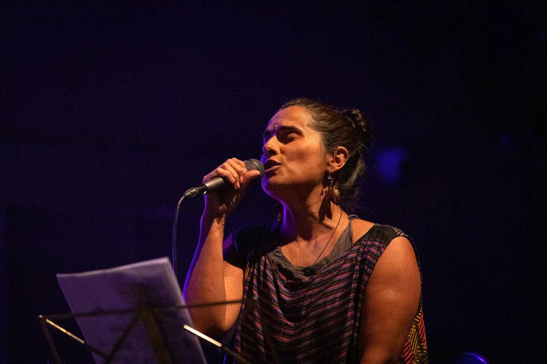 Cristina Branco cantou no Palácio da Galeria, Tavira.